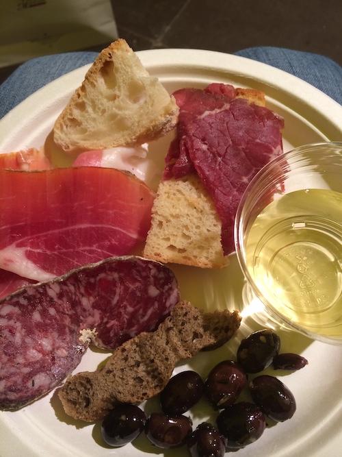 Lækker mad på min ferie i Toscana